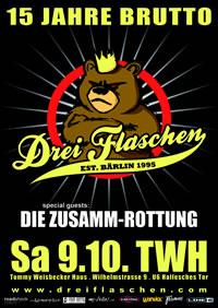 15th anniversary show of DREI FLASCHEN