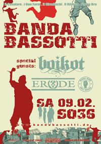 BANDA BASSOTTI and BOIKOT live in Berlin